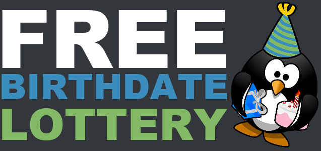Free Birthday Lottery ~ Daily lottery draws free birthdate chammy in real life