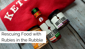 Rescuing Food with Rubies in the Rubble