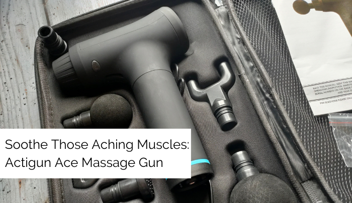 Soothe Those Aching Muscles: Actigun Ace Massage Gun [AD]